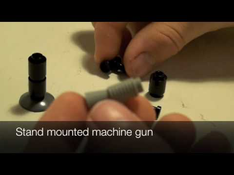 How to build lego guns for beginners