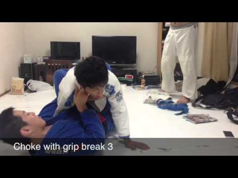 CLOSED GUARD / 8 GRIP BREAKS & SUBMISSIONS Image 1