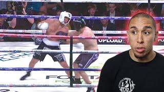 REACTING TO MY TKO! (FaZe Sensei vs Overtflow FULL FIGHT)