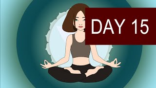 Throat Chakra Meditation to Overcome Shyness - Day 15