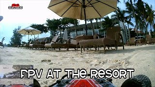 Brought the FPV buggy to the beach resort last week and had some fun!