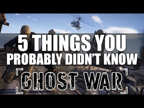 Ghost Recon Wildlands PVP - 5 Things You Probably Didn't Know (Ghost War PVP Tips and Tricks)