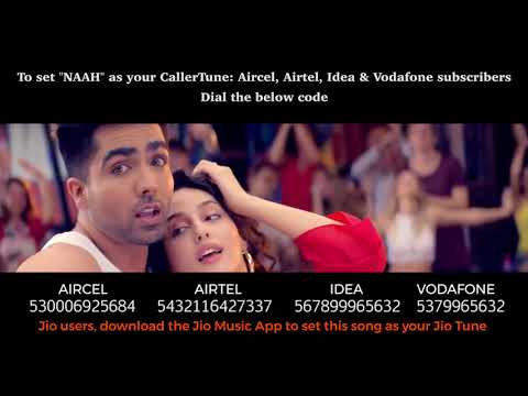 NAAH  - Callertune Codes - All Operators - Harrdy Sandhu Latest Hit Song 2017
