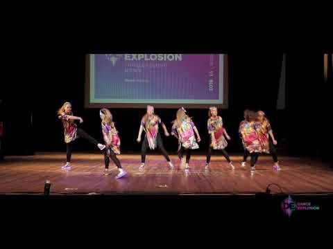 """Студия танца """"SLAM"""" / Танцевальный взрыв 2108 / юниоры"""