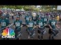 Philadelphia Eagles Hold Super Bowl Parade | CNBC