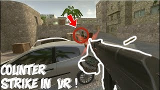 COUNTER STRIKE IN VR! (Funny Highlights)