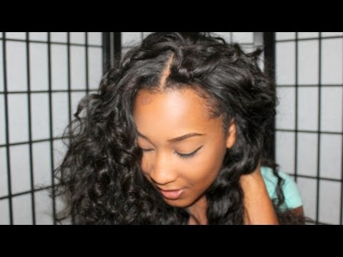How I Install My Silk Base Closure and U Part