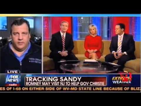 Chris Christie on Presidential Politics in Storm Aftermath