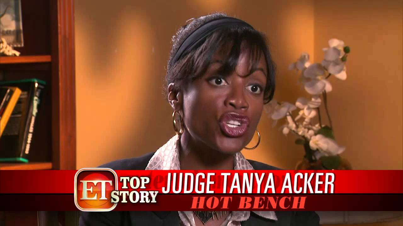 Bench Hot Hot Bench Judge Tanya Acker
