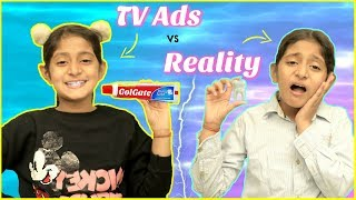 TV Ads vs REAL LIFE ... | #Roleplay #Fun #Sketch #MyMissAnand