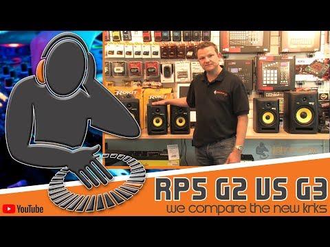 KRK Rokit RP5 G3 vs G2 - We Compare KRK Rokit 5 Studio Monitors