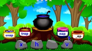 Kids learn to read English Words with Phonics & Rhyming - Fun and Education