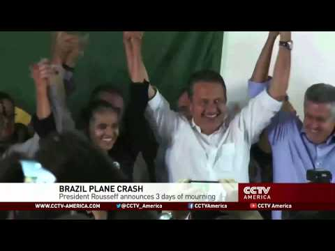 Brazil presidential candidate Campos killed in plane crash