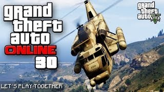 GTA ONLINE TOGETHER #030: Auf dem Maze Bank Tower [LET'S PLAY GTA V]