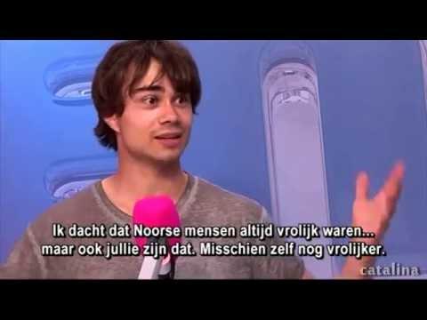 Alexander Rybak FULL interview Belgium 2014