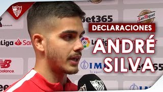 """André Silva:""""Ahora querrán más que nunca ganar el domingo, pero estamos preparados""""."""