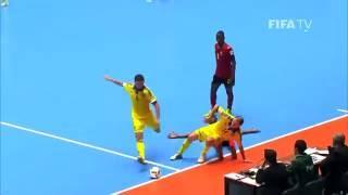 Match 19: Ukraine v Mozambique - FIFA Futsal World Cup 2016