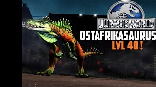 OSTAFRIKASAURUS [lvl40]-Jurassic World The Game