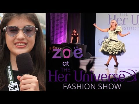 Zoe at The Her Universe Fashion Show SDCC18'
