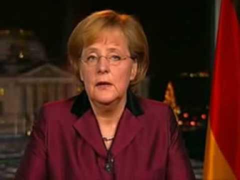 Angela Merkel Neujahrsansprache übersetzt (31.12.2008)