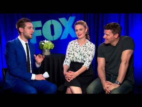 BONES Season 10 Interview - David Boreanaz & Emily Deschanel - BUFFY THE VAMPIRE SLAYER