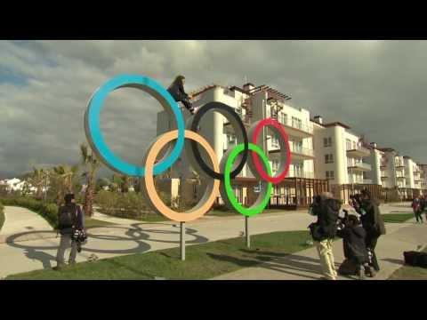 Inside the Sochi athletes village