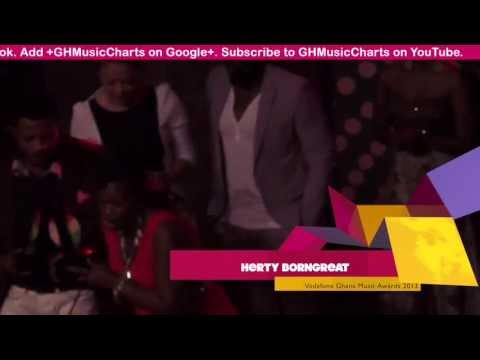 Hery Borngreat - - 'Best Collaboration Artiste Of The Year' winner @ VGMA 2013 | GhanaMusic.com Vide