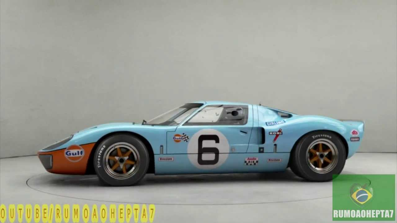 Steve mcqueen 39 s 11 million gulf ford gt40 is the most expensive american car ever sold youtube