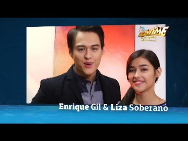 Liza Soberano & Enrique Gil for It's Showtime Kapamilya Day!