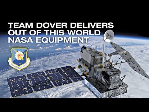 Team Dover Delivers NASA Satellite
