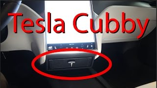 Tesla Cubby. The BEST Tesla Storage Option!