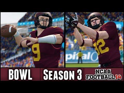 NCAA Football 14 Dynasty: Capital One Bowl vs Florida - (Season 3)