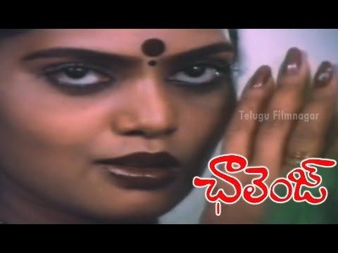 Silk Smitha Tempting Chiranjeevi - Challenge Movie Scenes - Vijayashanti, Suhasini video