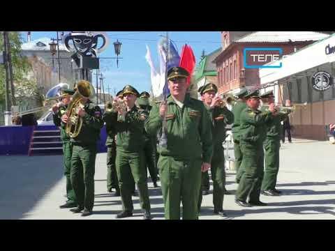 Шиханский военный оркестр стал украшением Марафона Победы в Вольске