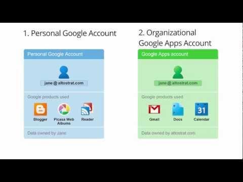 Conflicting Google Accounts