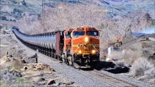 Wenatchee to Malaga empty Oil Train