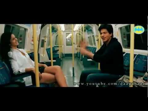 Super Hot Katrina Kaif Pole Dance With Shahrukh Khan In Train video