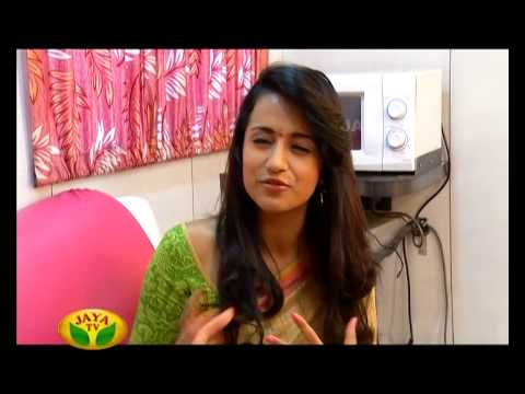 Trisha 16 - Diwali Special Program By Jaya Tv video