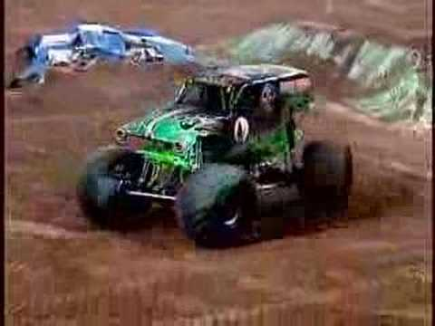 Monster Jam - Grave Digger Monster Truck Freestyle In Houston, TX 2007 Music Videos