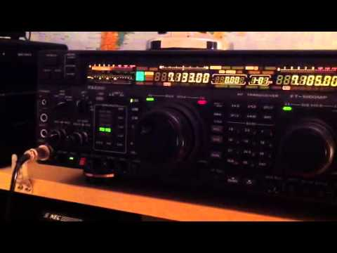 EW7LO Belarus amateur radio station Yaesu FT-1000MP