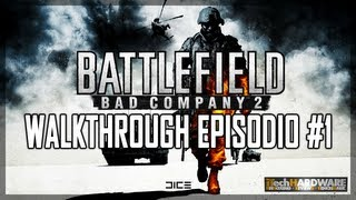 ▶ Battlefield Bad Company 2 - ITA Campaign GamePlay HD - iTH Part 1
