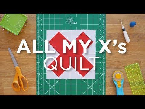 Quilt Snips Mini Tutorial - All My X's