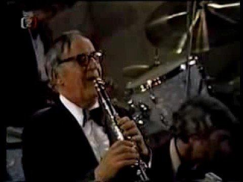Benny Goodman (clarinete) en vivo en 1976