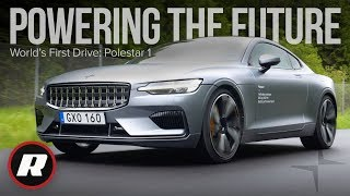 Polestar 1: World's first drive in this futuristic hybrid coupe