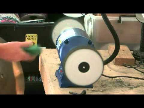 Polishing Brass With A Bench Grider Youtube