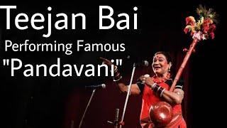 Teejan Bai PANDWANI (Sarai Shringar Mahotsav Baloda 2011 Part 8)