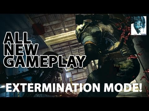 Aliens: Colonial Marines - All new gameplay: Extermination Mode