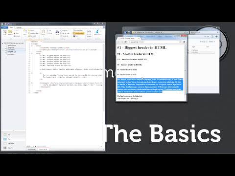Part 2 :: HTML - The Basics