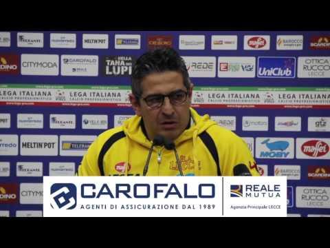 Il video dell'intervista a mister Padalino