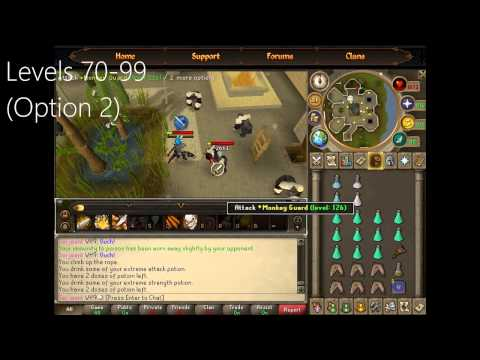 Runescape EoC Ultimate 1-99 Melee Guide ~ Fast
